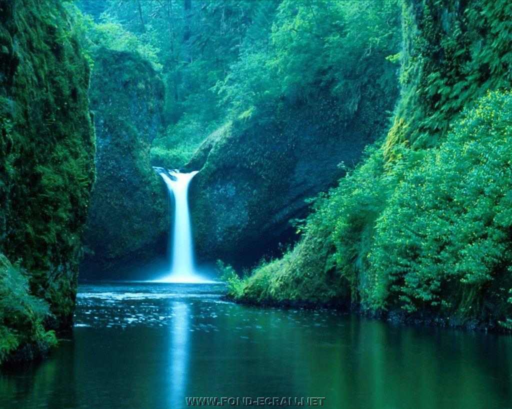 Cascade,chute d'eau